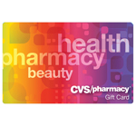 CVS PHARMACY<sup>®</sup> $25 Gift Card
